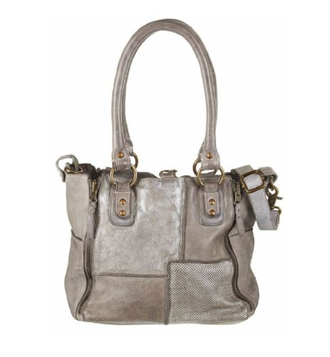 Bull&Hunt Tasche Jackie patch grey