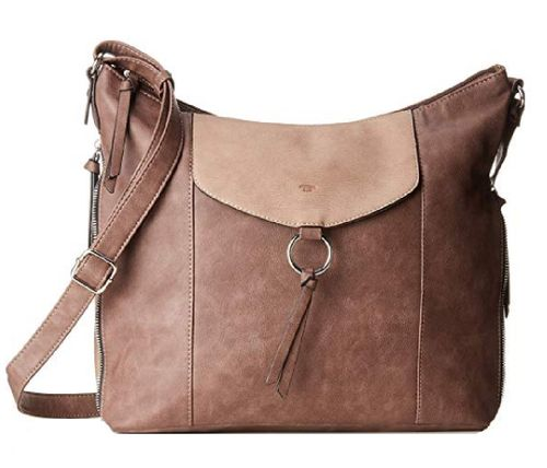 Beuteltasche Charlee Hobo taupe