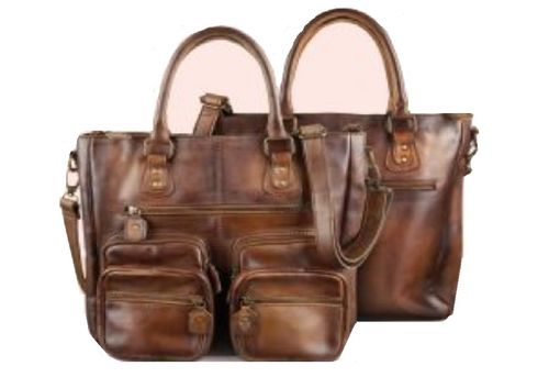 Bull&Hunt Shopper business casual cognac