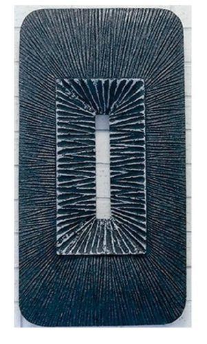 Wandbild Bahia grau