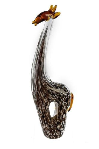 Skulptur Giraffe Glas