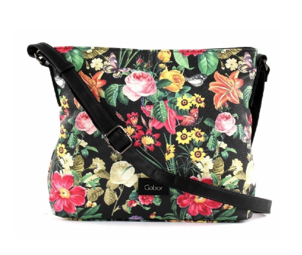 ee555f9d32b7c Gabor Tasche Blumen schwarz kaufen -Dekoik Online Shop - Geschenke ...