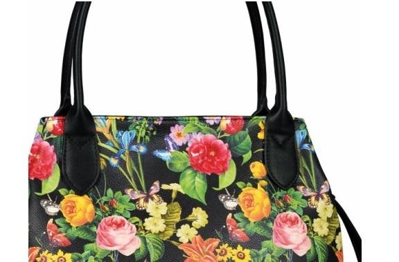 2e6b9f4415467 Schwarz Blumen Kaufen Tasche Shop Geschenke Gabor Dekoik Online MVpzGLqSU