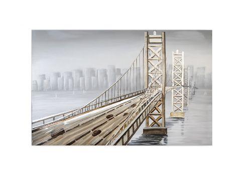 Wandbild Ölbild Bridge 150x100cm