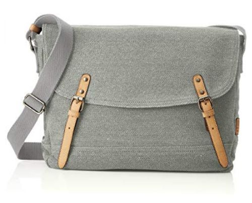 T.T. Messenger Bag Max grau