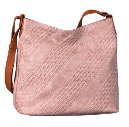 Beuteltasche Felisa Hobo rosa