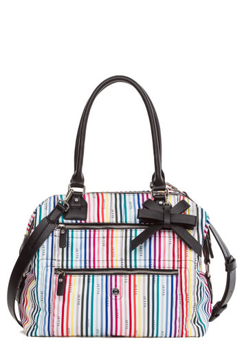 Damen Shopper Rainbow