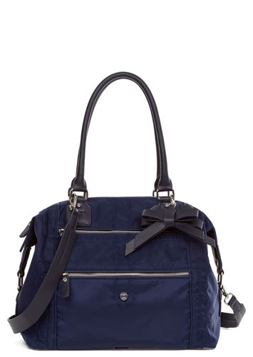 Jette Shopper Nylon blau