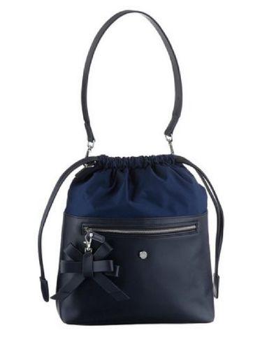 Jette Tasche Nylon blau