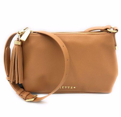 Damen kl. Tasche karamel