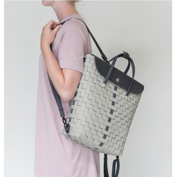 Shopper downtown grau