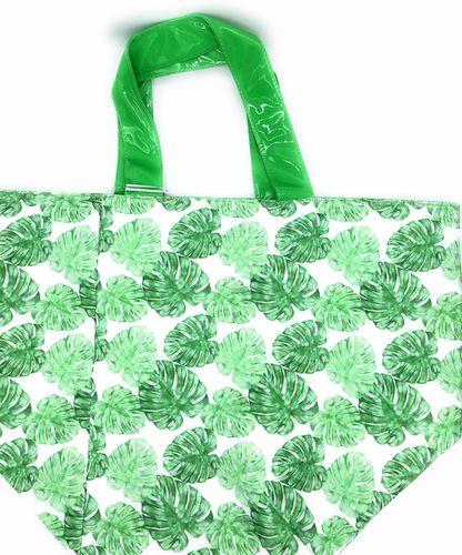 Strandtasche grün Natural Touch