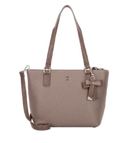 Damen Shopper Saffiano truffle