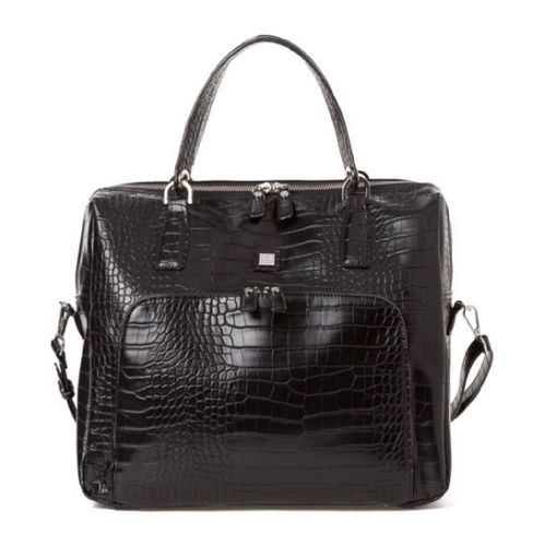 Jette Shopper Croco schwarz