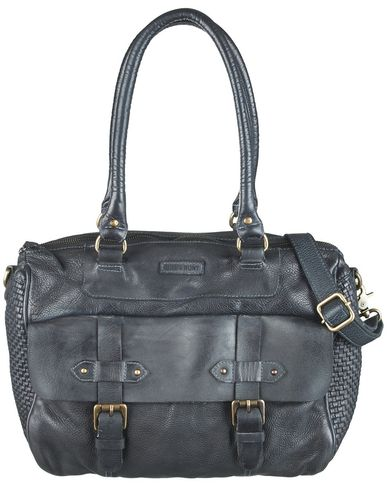 Bull & Hunt Shopper Emma braided schwarz
