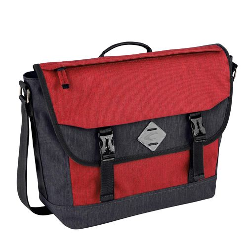 Herren Messenger Bag Satipo rot