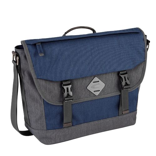 Herren Messenger Bag Satipo blau