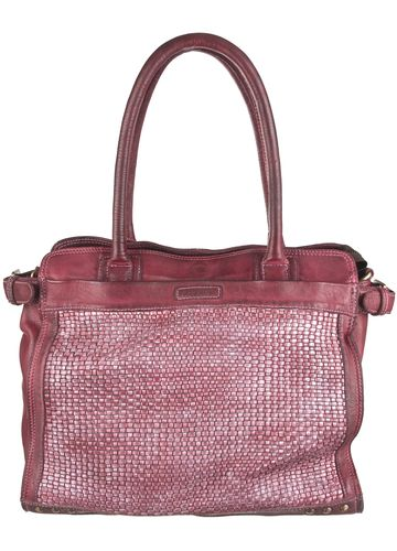 Bull&Hunt Shopper meghan braided burgundy