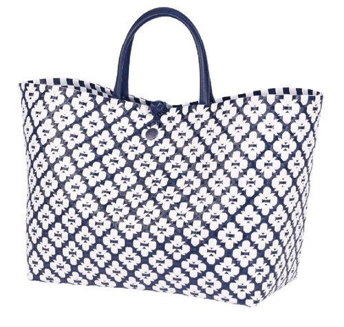 Shopper MOTIF BAG blau-weiss