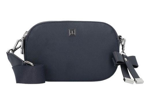 Damen Minibag  Saffiano blue